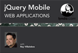 دانلود Lynda - jQuery Mobile Web Applications 2014