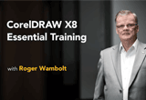 دانلود Lynda - CorelDRAW X8 Essential Training