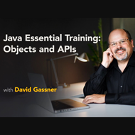 دانلود Lynda - Java Essential Training Objects and APIs