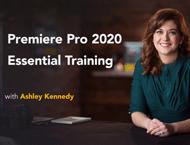 دانلود Lynda/LinkedIn - Premiere Pro 2020 Essential Training