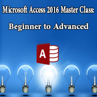 دانلود Microsoft Access 2016 Master Class Beginner to Advanced