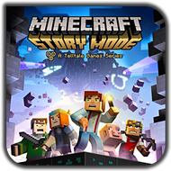 دانلود Minecraft: Story Mode Episode 1-2-3-4-5-6-7-8