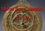 دانلود آموزش نرم افزار Msimit Sun Calendar
