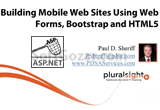 دانلود Pluralsight - Building Mobile Web Sites Using Web Forms, Bootstrap, and HTML5