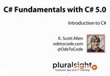 دانلود Pluralsight - C# Fundamentals with C# 5.0