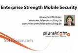 دانلود Pluralsight - Enterprise Strength Mobile Device Security