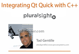 دانلود Pluralsight - Integrating Qt Quick with C++ Tutorial