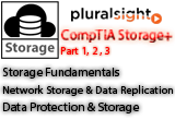 دانلود Pluralsight - CompTIA Storage+ Part 1-2-3 - Storage Fundamentals / Network Storage & Data Replication / Data Protection & Storage