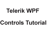 دانلود Telerik WPF Controls Tutorial
