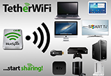 دانلود Tether WiFi Hotspot one click 2.0 for Android