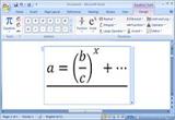 دانلود آموزش فرمول نویسی در ورد