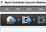 دانلود Tipard Total Media Converter Platinum 6.2.38 + Portable 9.2.18