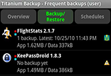 دانلود Titanium Backup Pro 8.4.0.2 Full Pack for Android +1.5