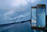 دانلود Transparent clock & weather 5.3.8 for Android +3.0