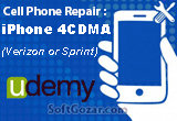 دانلود Udemy - Cell Phone Repair - iPhone 4CDMA (Verizon or Sprint)