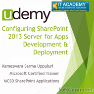 دانلود Udemy - Configuring SharePoint 2013 Serve for Apps Development