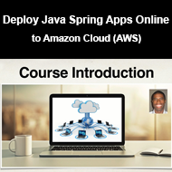 دانلود Udemy - Deploy Java Spring Apps Online to Amazon Cloud (AWS)