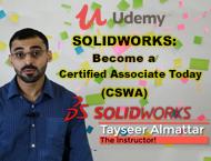 دانلود Udemy - SOLIDWORKS: Become a Certified Associate Today (CSWA)