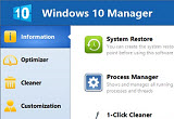دانلود Windows 10 Manager 2.1.8