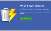 دانلود Wise Force Deleter 1.42.35 + Portable