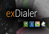 دانلود ExDialer PRO - Dialer & Contacts 196 for Android +2.1