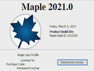 دانلود Maplesoft Maple 2021.1 / 2019 Win / 2018 Mac / 2019 Linux